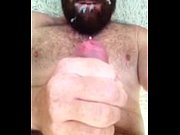 I Love Beards and Cum - Self Facial