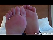 Jerk a big hot load all over my sexy feet JOI