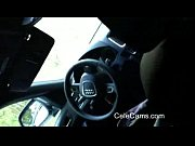 Hidden cam sucking car Audi Q7 _(new)
