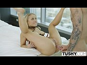 tushy blonde escort ash hollywood gives up her.
