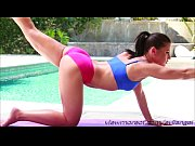 Sexy brunette chick Adriana Chechik gets fucked in the ass by her Jessy