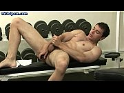 Crazy boy masturbating his asshole with a toy