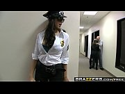 big tits in uniform - securi-tits scene starring breanne benson johnny sins