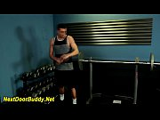 jock jizz soaked at gym