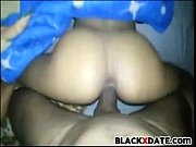 Black ex gets pussy fucked by huge black dick