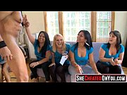 35  Cheating whores suck of stripper at cfnm party01