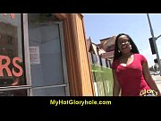 black girl have surprise gloryhole 4