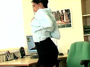 Sexy secretary masturbates in sheer stockings view on xvideos.com tube online.