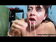 Sloppy deepthroat blowjob by Latina 2