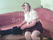 Horny School Girl