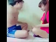 indian couple playing funny game