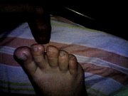 footjob sleeping wife 45