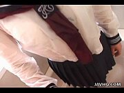 Pretty Japanese schoolgirl cumfaced uncen ...