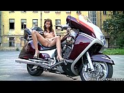 Horny Biker Girl Gets Off Solo