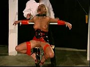 slave livia extreme restraints bondage training.