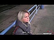 Bitch STOP - Blonde Czech MILF fucked in car
