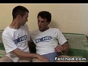 Hot male couple sucking, assfucking and felching