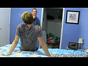 Gay sex Daddy McKline works his puffies while Kyler gets down and