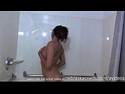 exotic beauty masturbating in hotel shower