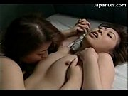 2 asian girls kissing rubbing their tits licking.