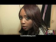 Ebony Cumslut Gets Multi Facial In Gangbang 3