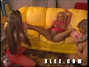 three hot lesbians fingering each other