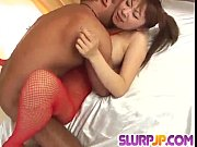 superb erena kurosawa takes good care of two dicks