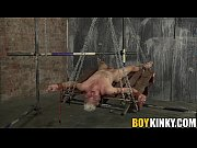 sexy twink titus snow stripped naked and roped.