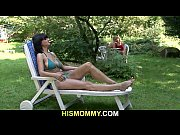 Picture Busty mom seduces his cute girl