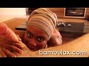 Real african ebony teen blowjo