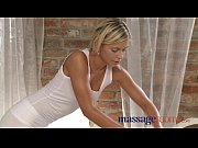 massage rooms blonde teen massages client&#039_s cock with.