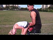 Picture TheRealWorkout Sexy blonde Addison Avery fuc...