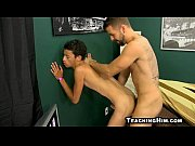 Young twink gets fucked by a mature stud