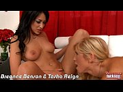 threesome with hotties breanne benson and.