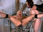 bizarre prison camp pussy shaving of little miss.