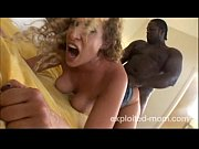 blonde mature milf fucks a black.