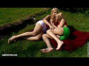 Strawberry Seduction by Sapphic Erotica - lesbian love porn with Rikki - Antonia