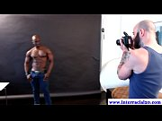 muscled black dudes posing for pictures