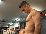 bodybuilders fuck ass bareback style in.