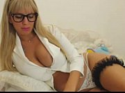 glasses nerdy blonde camming   - combocams.com