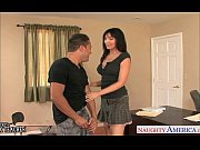 Brunette sex teacher Diana Prince fucking