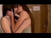 girl seduces friend to lesbian kissing