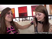 Picture StepSiblings Hot brunette lesbian step sisters li...