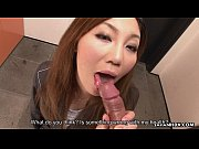 Hot Asian office bitch sucking the dick so violently