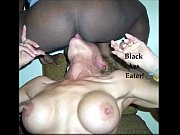 Picture Husband records Wife eating black ass