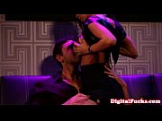 Xem phim Glamorous brunette writhes in his lap
