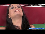 smoking blowjob skank takes big facial