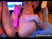 sexy cam girl enjoying her toys