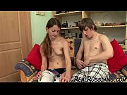 amateur russian couple makes love on.