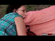 Tiny Teen assfucked outdoors Anne Angel.6
